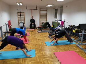 Gimnastika s Brankom @ Kanu klub Končar